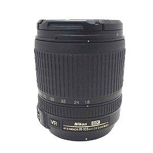 Lente Nikon AF-S DX Nikkor 18-105mm f/3.5-5.6G ED VR Seminova