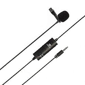 Microfone de Lapela Com Fio Greika GK-LM1