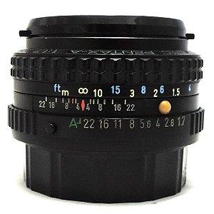 Lente Pentax-A SMC 50mm f/1.7 Usada