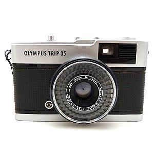 Câmera Analógica Olympus Trip 35 com Lente 40mm Usada