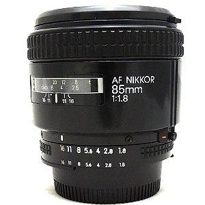 Lente Nikon AF NIKKOR 85mm f/1.8 Seminova
