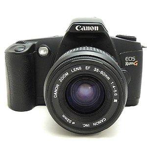Câmera Analógica Canon EOS Rebel G com Lente 35-80mm Usada