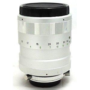 Lente Hanimex Espelhada 300mm f/6.3 Anel T-Mount Rosca M42 Usada