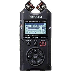 Gravador Digital de Áudio Tascam DR-40X