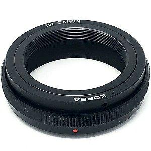 Anel Adaptador de Lente Vivitar 211881 T Mount para Câmera Canon FD