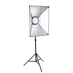 Kit de Iluminação Greika LEDMAX45 Retangular 50x70cm com Luz LED 45w e Tripé 2,60 metros