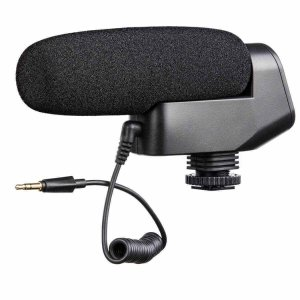 Microfone Direcional Shotgun Boya BY-VM600