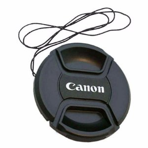 Tampa Frontal para Lente Canon 58mm