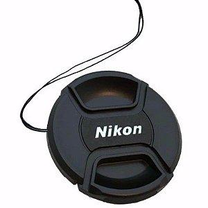 Tampa Frontal para Lente Nikon 55mm