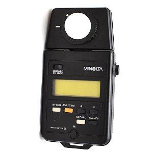 Fotômetro Minolta Auto Meter III Flashmeter Usado