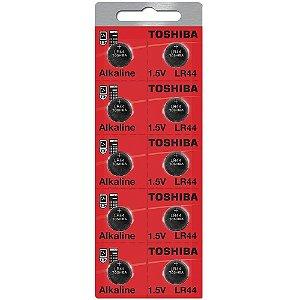 Bateria Toshiba LR44 1.5v com 10 Unidades