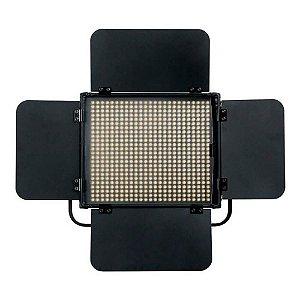 Iluminador de LED Greika HS-600MB Pro Bicolor