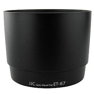 Parasol JJC LH-67 para Canon 100mm Substitui Canon ET-67