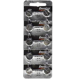 Bateria Energizer LR44 1.5V Cartela com 10 Unidades