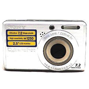 Câmera Sony Cyber-Shot DSC-S750 Usada