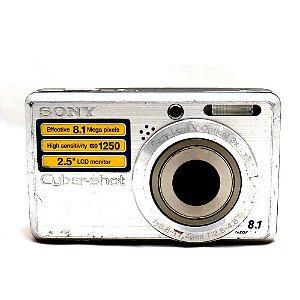 Câmera Sony Cyber-Shot DSC-S780 Usada