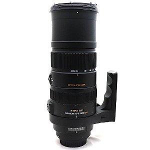 Lente Sigma 150-500mm f/5-6.3 APO DG OS HSM para Canon Usada
