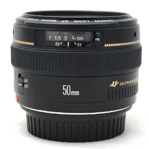 Lente Canon EF 50mm f/1.4 USM Seminova
