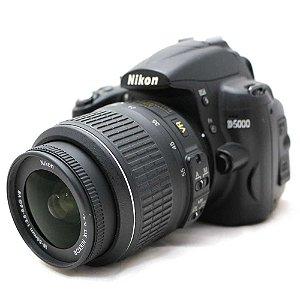 Câmera Nikon D5000 com Lente 18-55mm VR Seminova