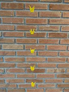Mobile de Tsuru | Amarelo