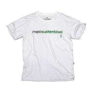 Camiseta Ecológica Meio Sustentável Big Logo