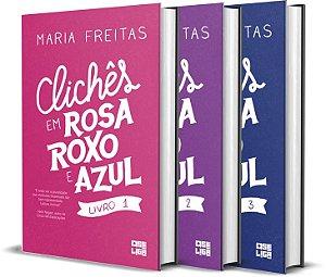 Clichês em Rosa, Roxo, Azul (3 livros)