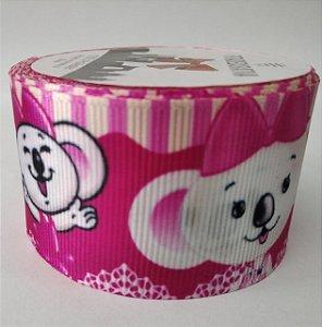 Fita de Gorgurão Lilica Pink 4869