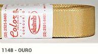 Fita de Gorgurão Lisa 1148 Ouro