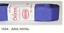 Fita de Gorgurão Lisa 1654 Azul Royal