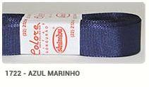 Fita de Gorgurão Lisa 1722 Azul Marinho