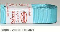 Fita de Gorgurão Lisa 2888 Verde Tiffany