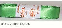 Fita de Cetim Lisa 12 Verde Folha