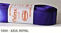 Fita de Cetim Lisa 1654 Azul Royal