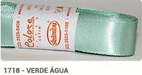 Fita de Cetim Lisa 1718 Verde Água