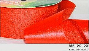 Fita Decorativa Lurex c/10 metros 06 Vermelho