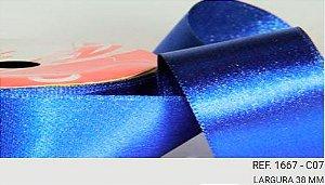 Fita Decorativa Lurex c/10 metros 07 Azul Royal