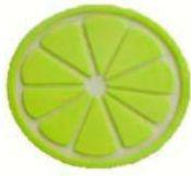 Aplique Emborrachado Limão