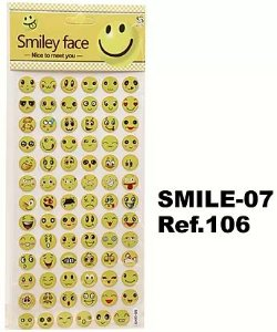 Cartela Adesiva 3D SMILE-07