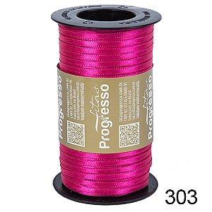 Fita de Cetim Lisa n°1 Pink 303