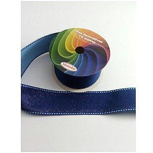 Fita Pesponto com Glitter SINIMBU - C03 Azul