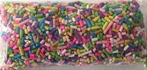 Aplique Mini Granulado Colorido - Pacote c/ 10 gramas