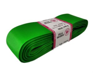 Fita de Gorgurão Sanding n°9(38mm) 10metros - Cor 108 Verde Bandeira
