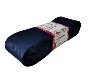 Fita de Gorgurão Sanding n°9(38mm) 10metros - Cor 159 Azul Marinho