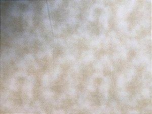 Tecido Tricoline Estampado Bege Clareado (Meio Metro)