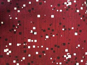 Tecido Tricoline Estampado Fragmentação Moderna (Meio Metro)