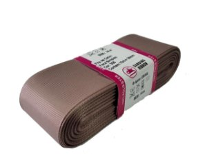 Fita de Gorgurão Sanding n°9(38mm) 10metros - Cor 306 Nude Escuro