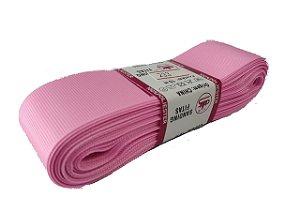 Fita de Gorgurão Sanding n°9(38mm) 10metros - Cor 233 Rosa Chiclete