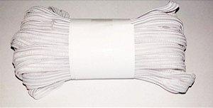 Elástico Chato para Máscara 5mm - Branco