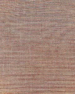 Tecido Tricoline Estampado Listra Vermelha (Meio Metro)