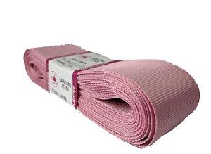 Fita de Gorgurão Sanding n°9(38mm) 10metros - Cor 22 Rosa Mauve
